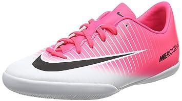 Nike Mercurialx Victory Vi DF IC Zapatillas, Niños, Rosa, 37.5