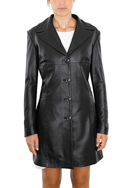 the best attitude 5089b 59ae6 Pellein - Cappotto in pelle Donna invernale Sonia
