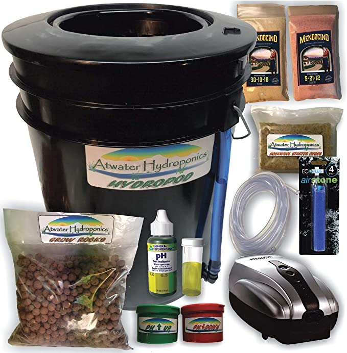 The Atwater HydroPod - DWC Garden System Kit - Best For Saving Water