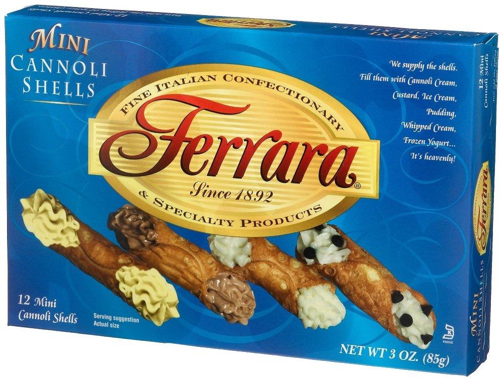 Ferrara - Mini Cannoli Shells, (3)- 3 oz. Boxes