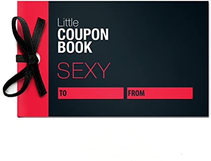 Amazon Com Little Coupon Book Sex Coupons For Him Or Her Health Personal Care
