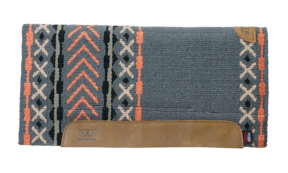 Dark Slate orange 34\ Dark Slate orange 34\ Weaver Leather Synergy Straight EVA Sport Foam Saddle Pad