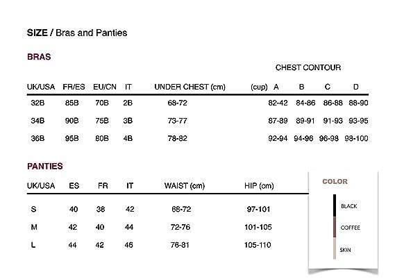 MRMISS Design Sujetador sin Aros, sin Costuras, Push-up para Mujer (95B, Black): Amazon.es: Ropa y accesorios