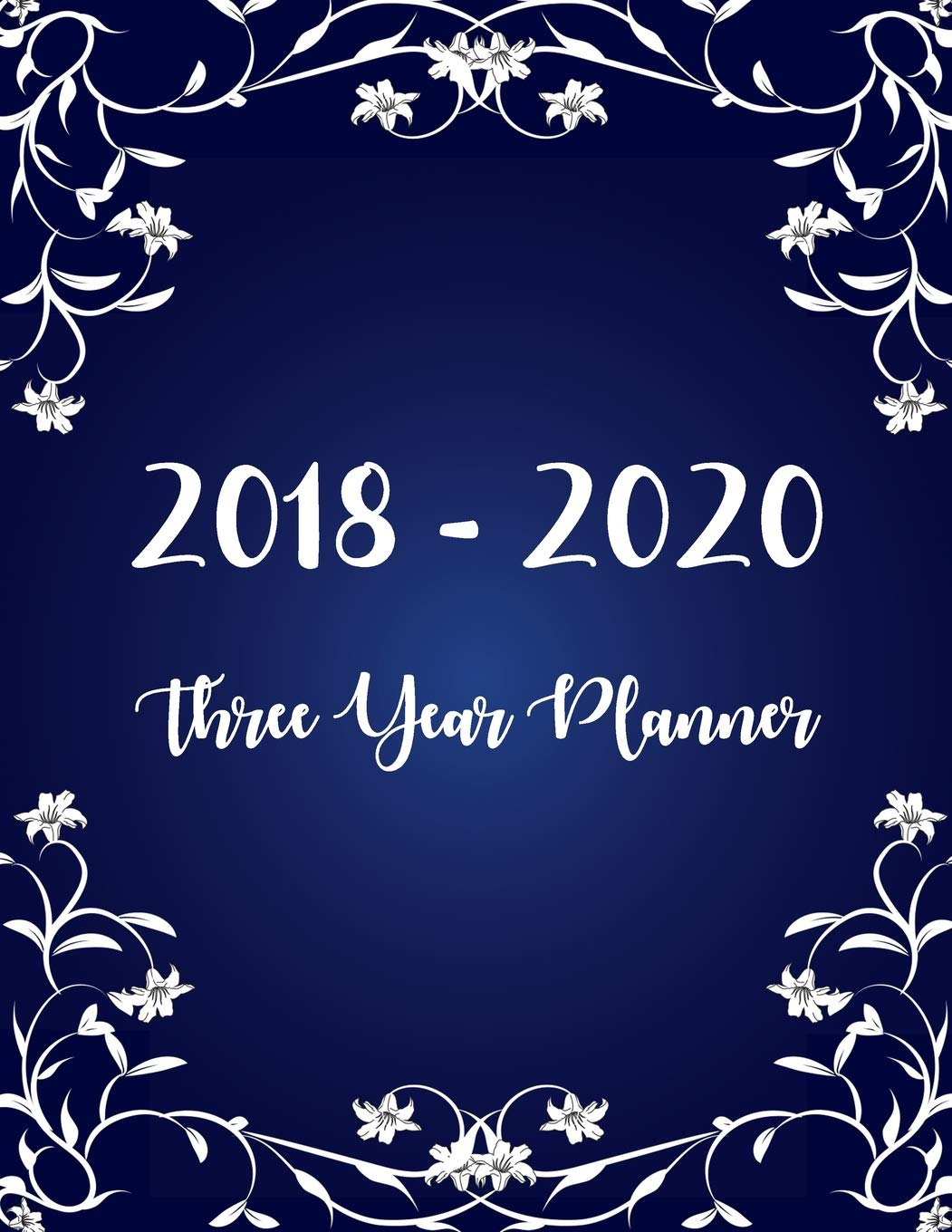 2018 - 2020 Three Year Planner: Monthly Schedule Organizer ...