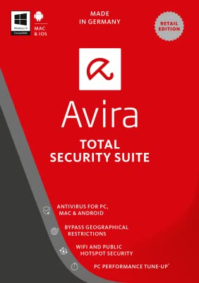 Avira Total Security Suite 2017 | 1 Device | 1 Year | Download [Online Code]