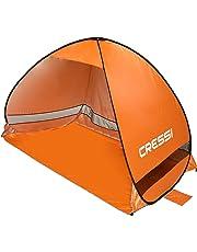 Cressi Beach Tent Tenda da Spiaggia, Arancio, 200x120x130 cm