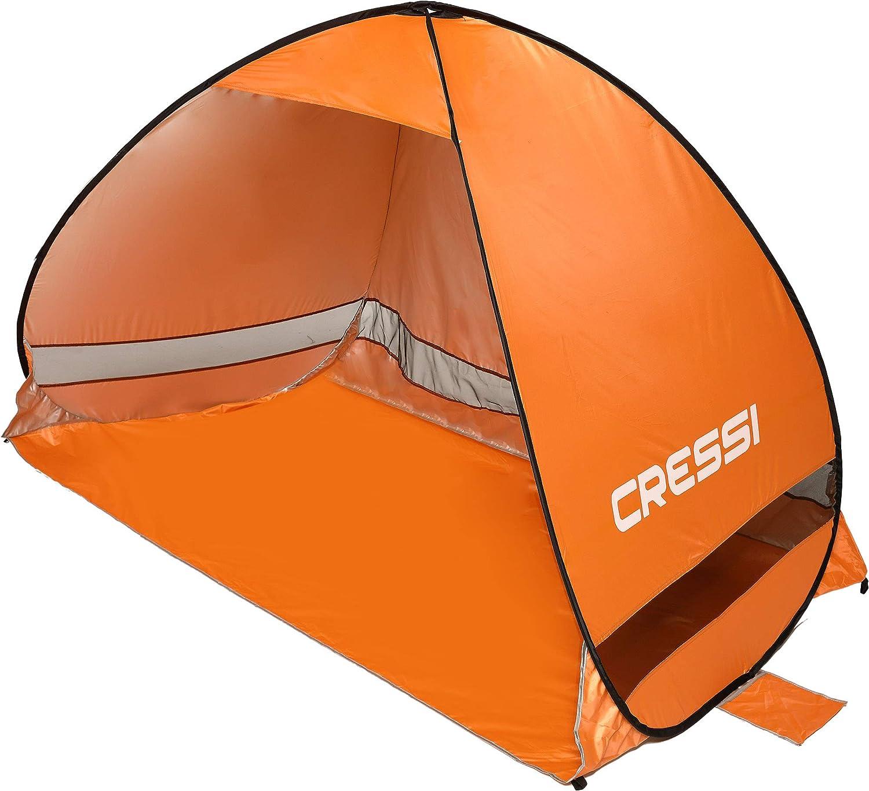 Cressi Beach Tent Tiendas de Playa, Naranja, 200x120x130 cm XVA800185