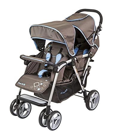 Amazon.com : Dream On Me Traveler Lightweight Tandem Stroller ...