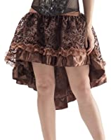 Alivila.Y Fashion Womens Vintage Victorian Lace Asymmetrical High Low Dress Skirt