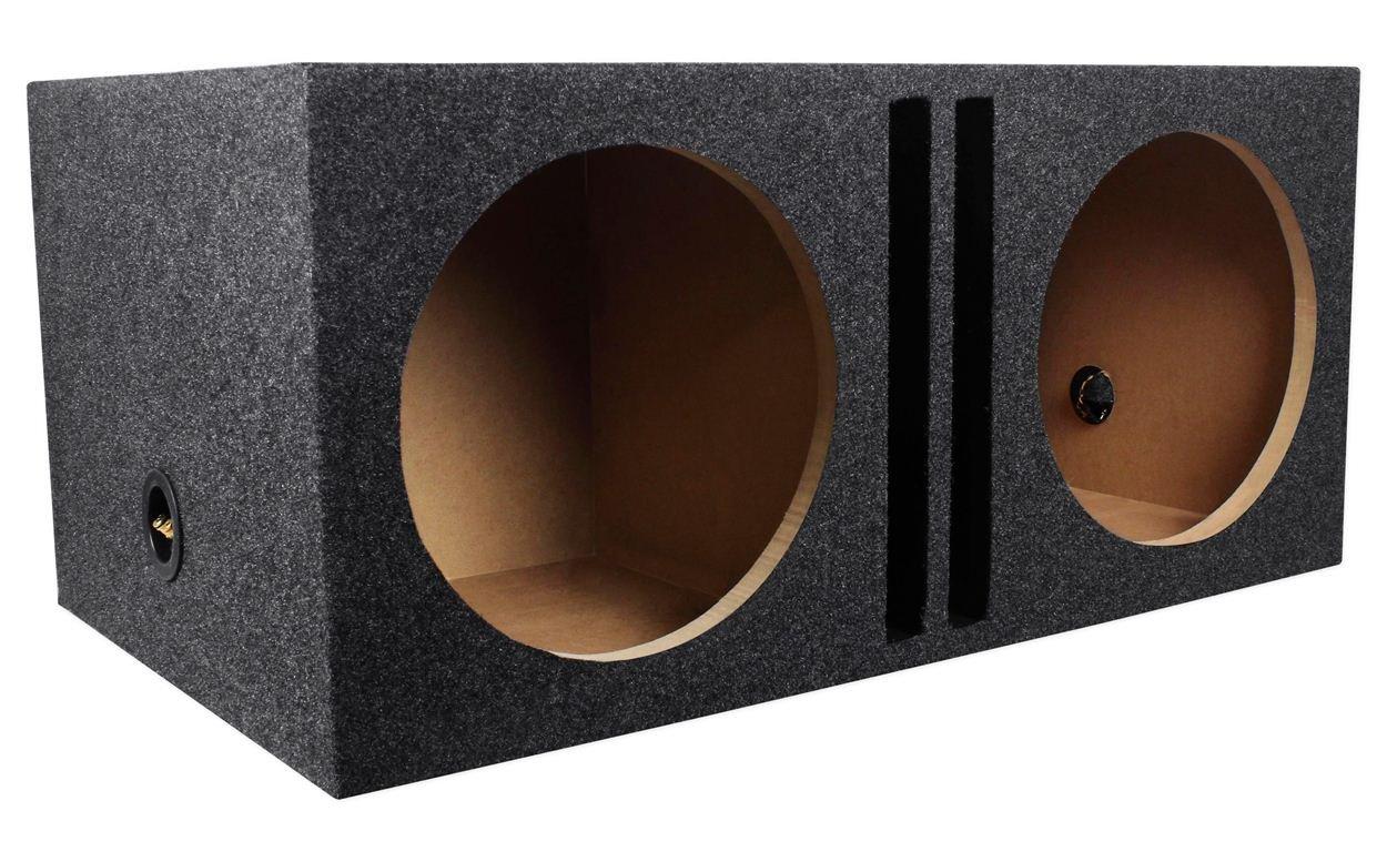 Rockville RDVB12 Dual 12'' 1.75 cu.ft. MDF Vented/Ported Subwoofer Enclosure Box