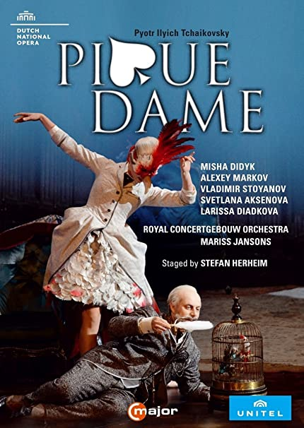 Tschaikowsky: Pique Dame (Amsterdam, 2016) [2 DVDs]: Amazon.de: Royal  Concertgebouw Orchestra, Misha Didyk, Alexey Markov, Vladimir Stoyanov, Mariss  Jansons, Stefan Herheim, Royal Concertgebouw Orchestra, Misha Didyk: DVD &  Blu-ray