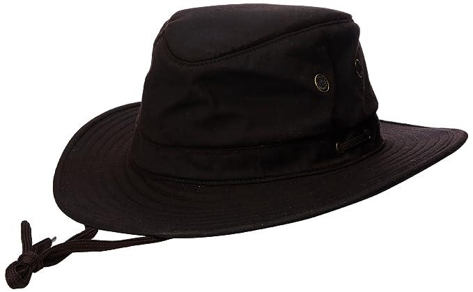 a42eb5ed891b6 Amazon.com   Henschel Men s Oilcloth Hat   Cold Weather Hats   Clothing