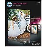 HP Premium Plus Photo Paper, Soft Gloss, A, 50 Sheets (CR667A)