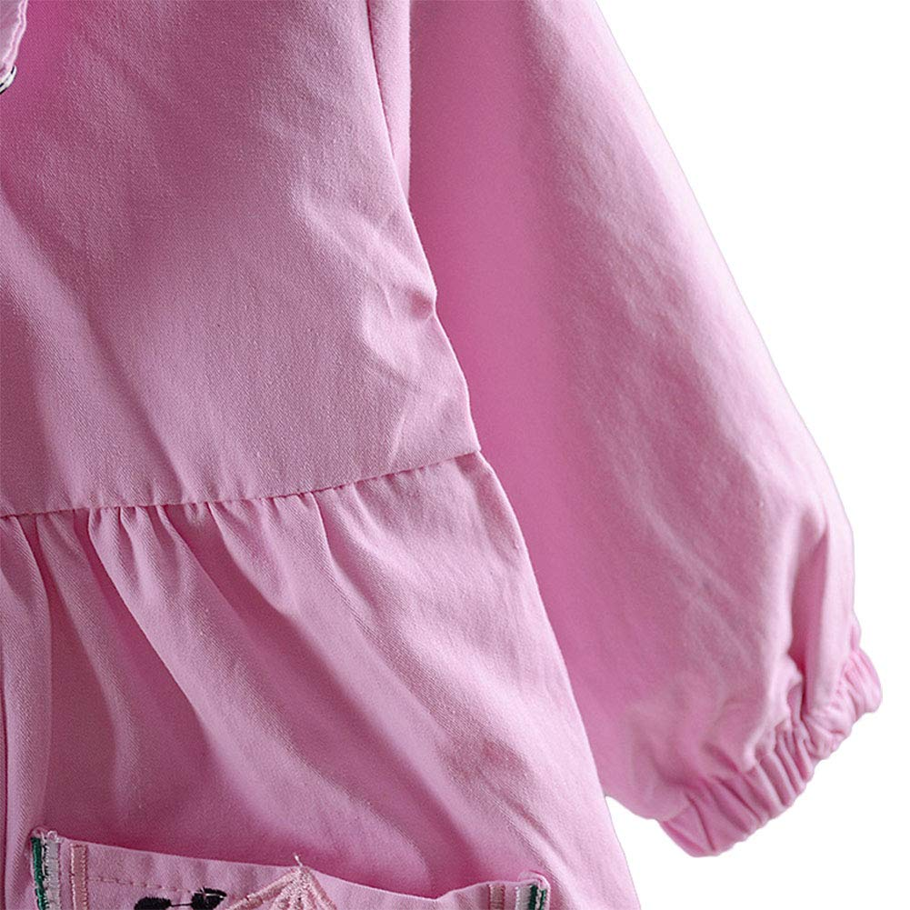 LOSORN ZPY Kid Baby Girl Spring Hooded Jacket Windbreaker Coat Outerwear