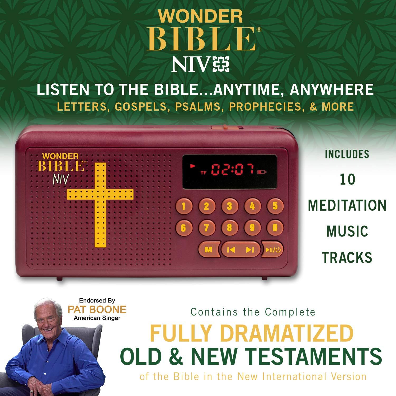 WONDER BIBLE NIV- The Audio Bible Player That Speaks, New International Version, as Seen On TV by WONDER BIBLE (Image #2)