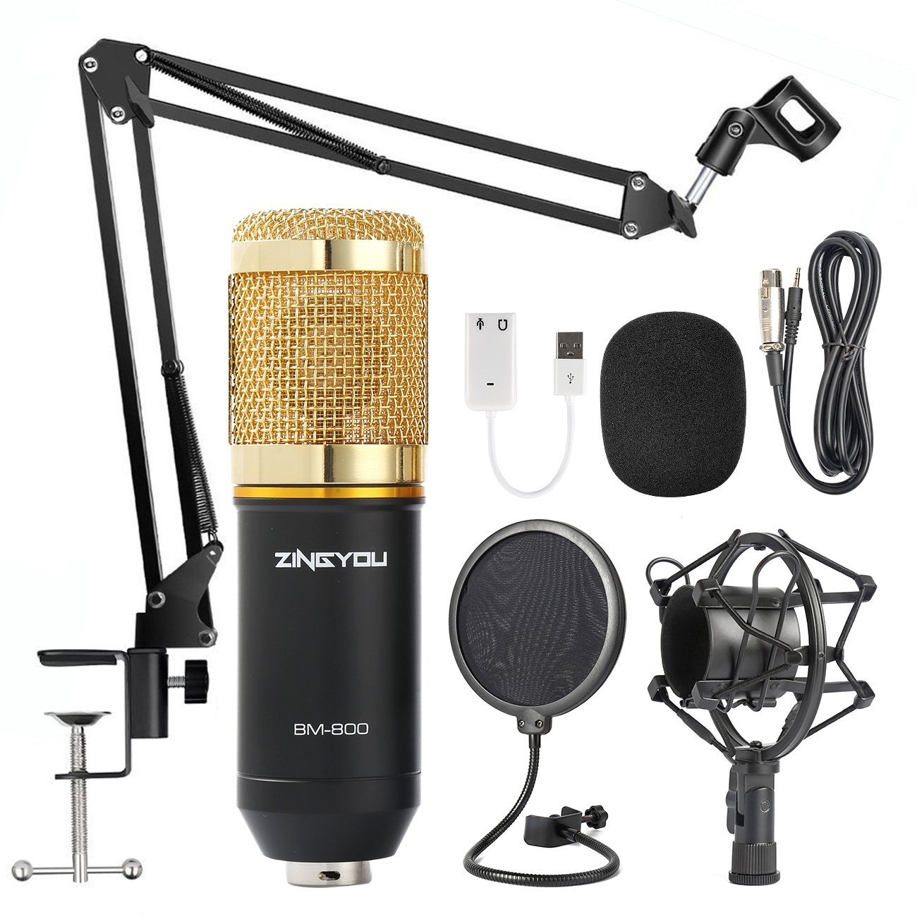 Details about Rap Microphone Studio Recording Kit Auto-Tune Protools  SoundCloud Best Music New