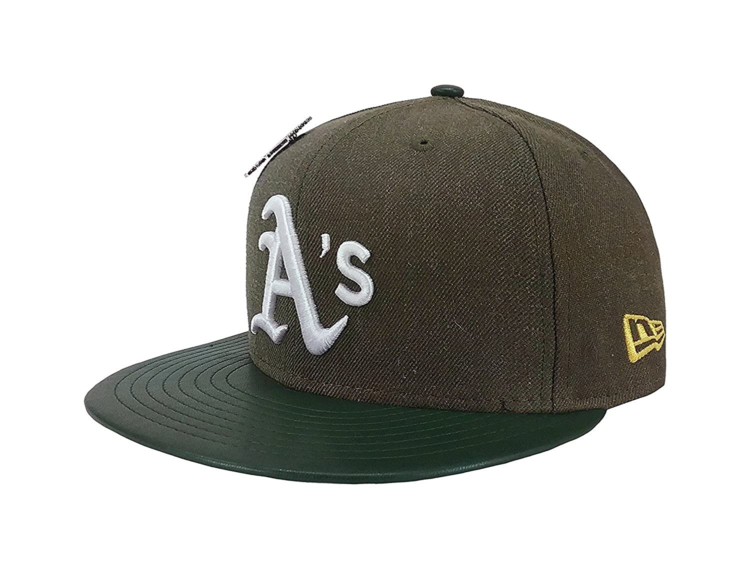 New Era 59Fifty Hat Oakland Athletics Pin 9X Trophy MLB Green Fitted Cap at  Amazon Men s Clothing store  c7fbd2e5352