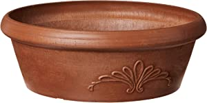 Arcadia Garden Products PSW TA25TC Bulb Pan, 10 by 3.5-Inch, Terra Cotta