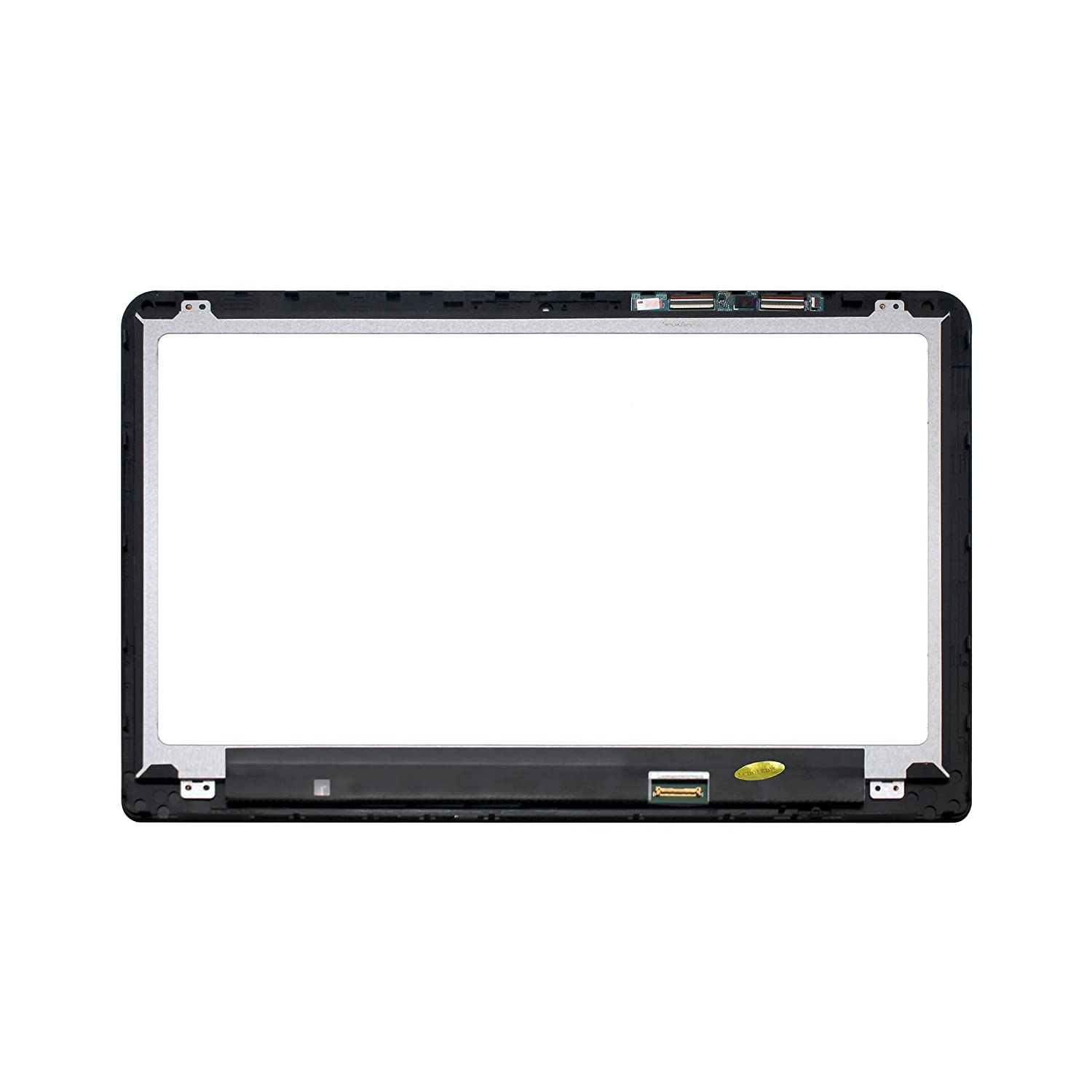 LCDOLED 15.6 inch Replacement Touch Screen Digitizer Front Glass Panel Bezel for HP Envy X360 15-w117cl 15-w150nw 15-w151nw 15-w152nw with Touch Control Board