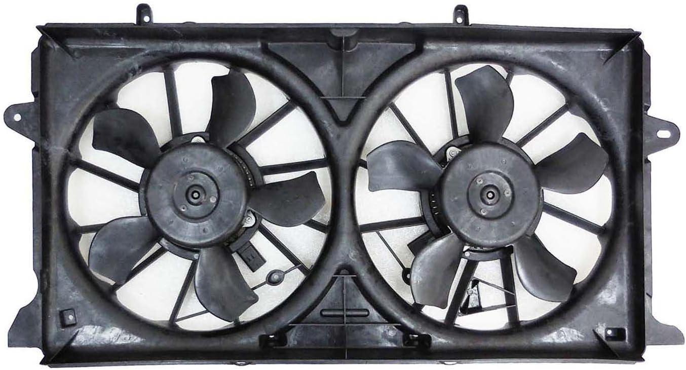 Dual radiador y ventilador de condensador para Cadillac Escalade ...