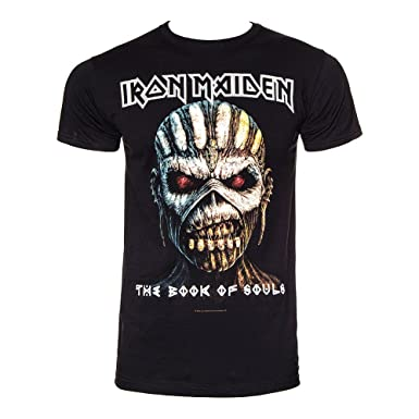 eae6c0ce Official Band Merchandise Iron Maiden Unisex-Adult's Book of Souls T ...