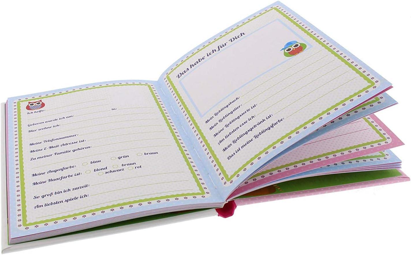 Goldbuch Livre 43/944/ 21/x 15/cm /Amis Chouettes sur balan/çoire A5 72/Pages Assorties