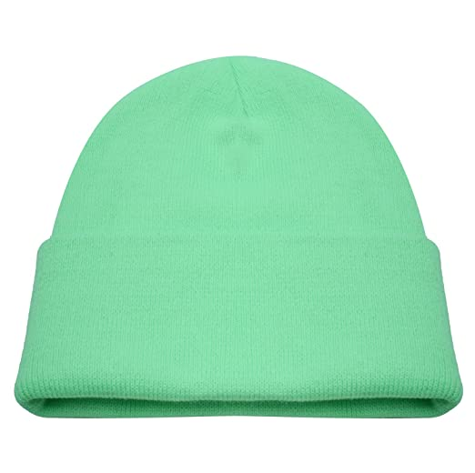 Image Unavailable. Image not available for. Color  PZLE Green Beanie  Cycling Cap Green Mens ... e303b2c1571