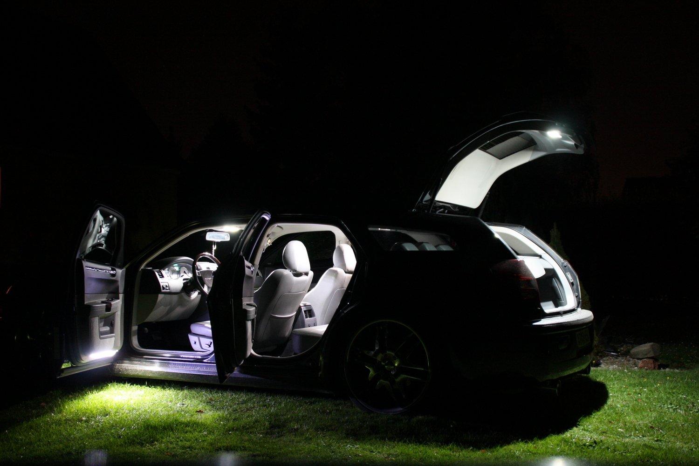 blanc Audi a4 b7 8E avant s4//rS4 lEDs /éclairage int/érieur 12 canbus