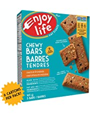 Enjoy Life Chewy Bars, Soy Free, Nut Free, Gluten Free, Dairy Free, Non GMO, Vegan, Carrot Cake Flavour, 6 Boxes (30 Bars)