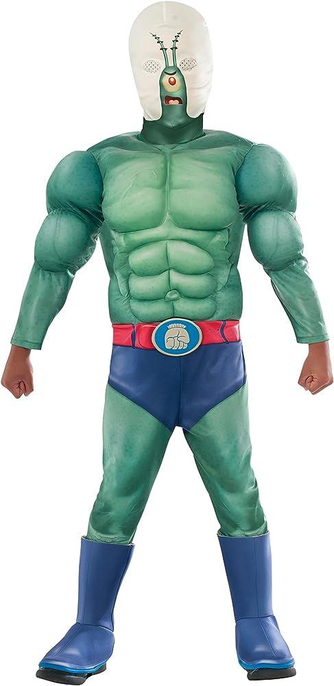 Disfraz de Plankton Bob Esponja la película musculoso para niño ...