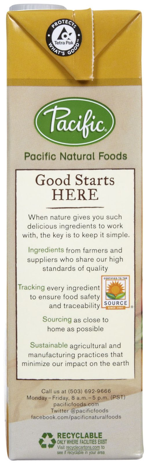 Pacific Foods Organic Chicken Broth-32 Oz-2 Pack by Pacific Foods (Image #4)