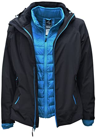 35df8b1a822 Amazon.com  Pulse Womens Plus Size 3in1 Swiss Systems Snow Ski ...