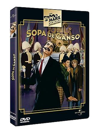 Sopa de ganso [DVD]: Amazon.es: Groucho Marx, Louis Calhern ...