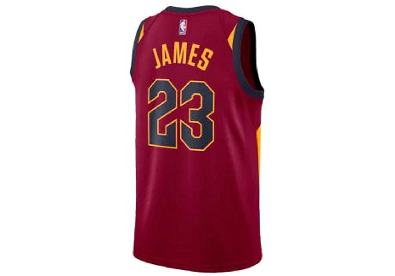 6db225eb267a Amazon.com  Men s Nike NBA Cleveland Cavaliers Lebron James Swingman Jersey   Clothing