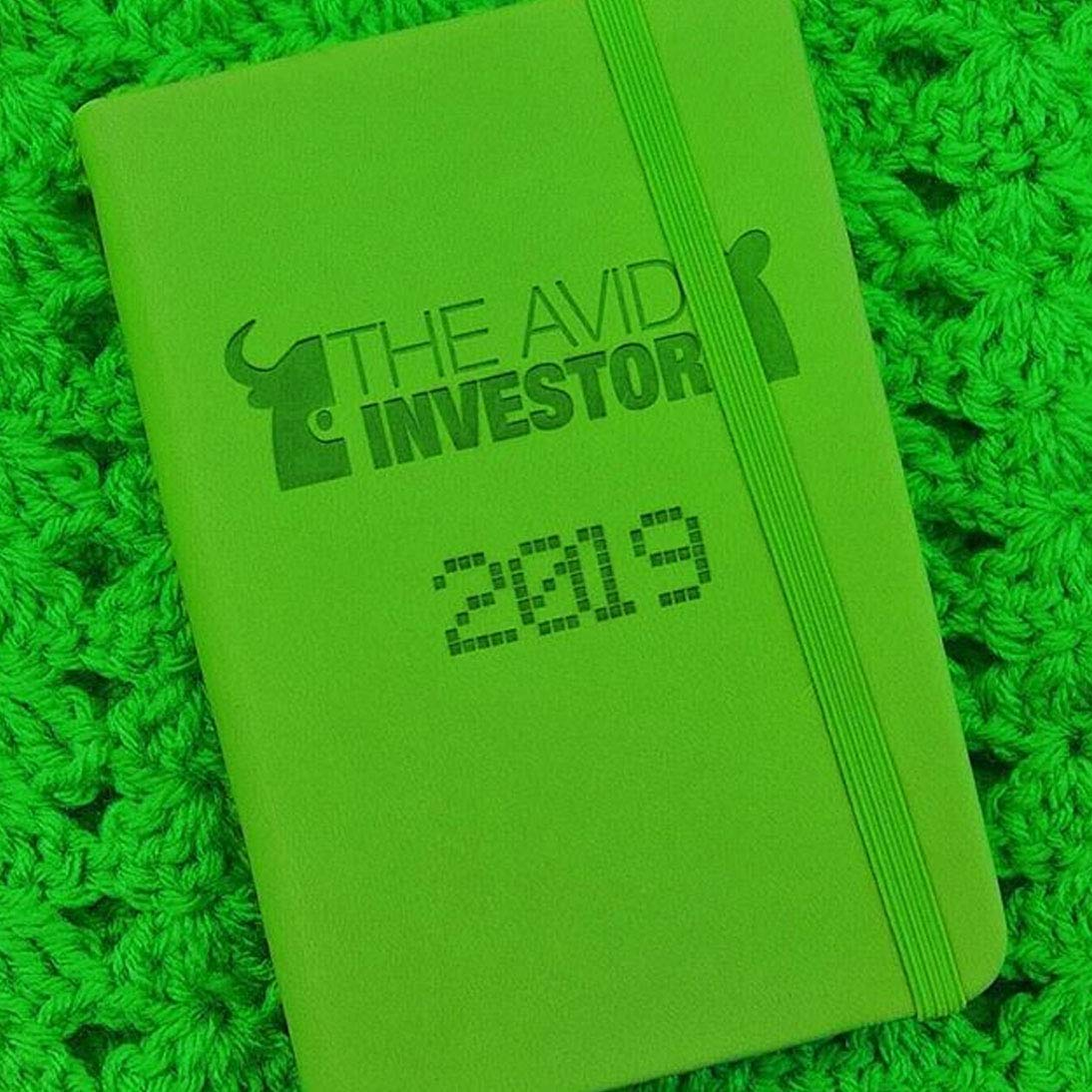 12 Month Planner 2019, Agenda Organizer, Investment Planner The Avid Investor (3.5