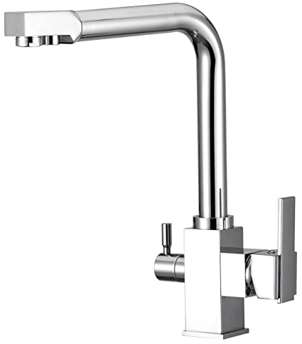 Ordinaire Water Filter Purified Faucet With 3 Way Kitchen Faucet Tap For Filtration  Stainless Steel   Contemporary