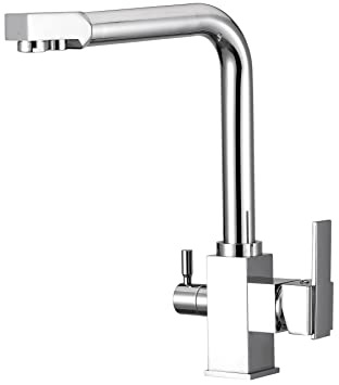 Water Filter Purified Faucet with 3 Way Kitchen Faucet Tap for