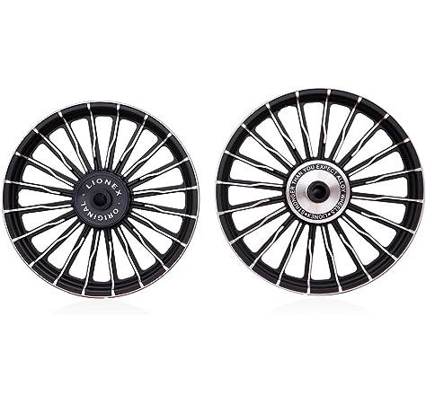 Lionex Royal Enfield Classic Bullet 18 Inch 20 Wave Spoke Alloy Wheels (Set of 2