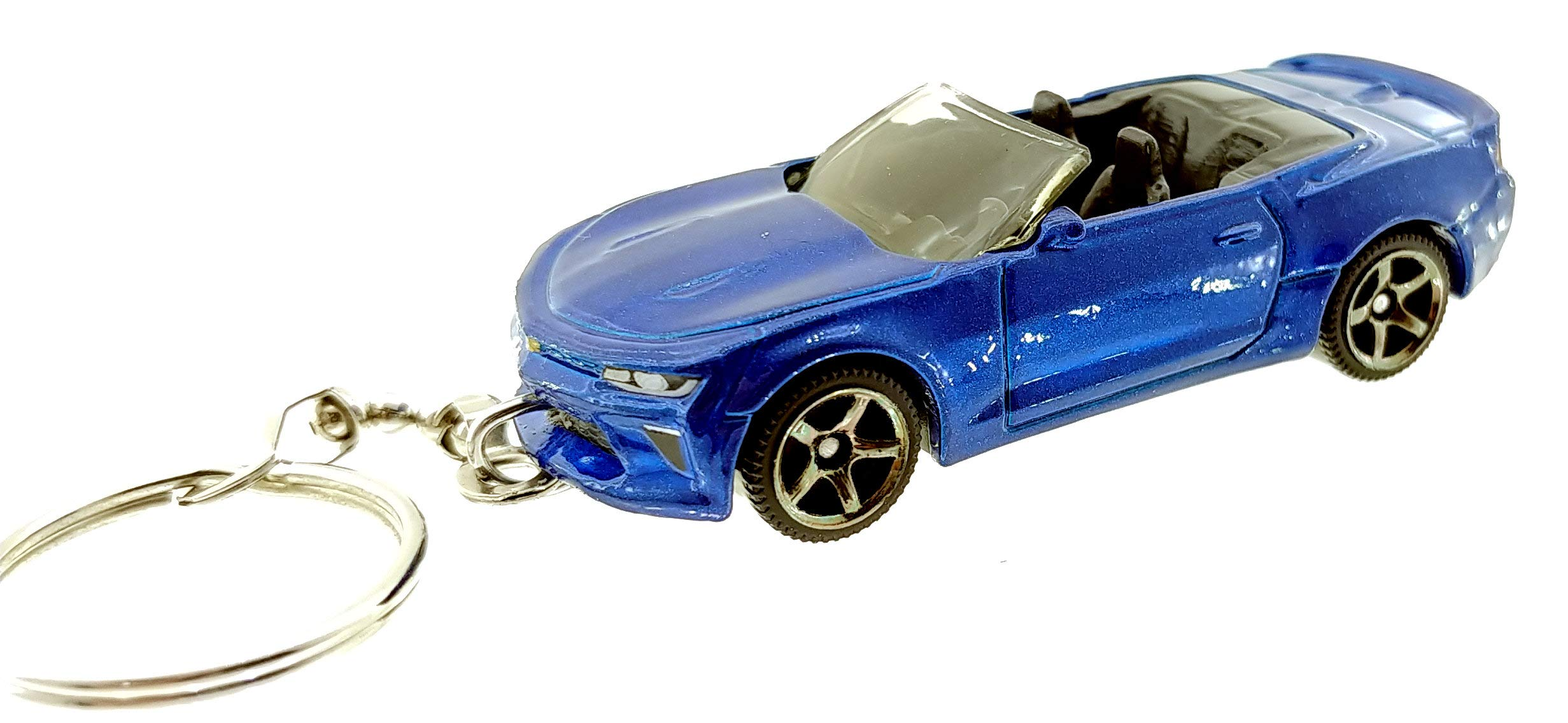 for Chevrolet Camaro SS Stainless Steel Keychain Wen XinRong