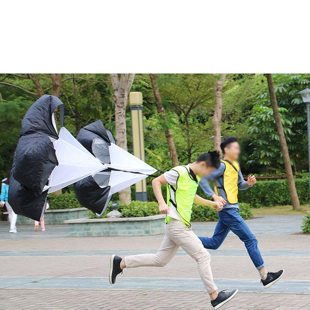 Kit de entrenamiento de fútbol equipo baloncesto Running arrastre  resistencia paracaídas Power Chute velocidad entrenamiento ejercicio para  entrenamiento de ... 9a72947638dc5