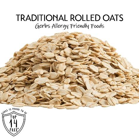 Copos de avena por gerbs – Gluten – Peanut – Árbol de tuerca ...