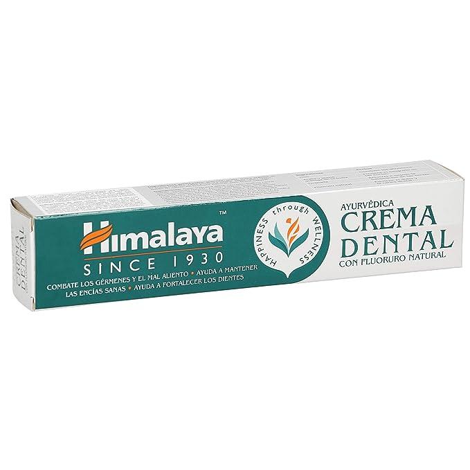 23 opinioni per Himalaya Herbals Ayurvedico Dentale Crema Dentifricio 100g
