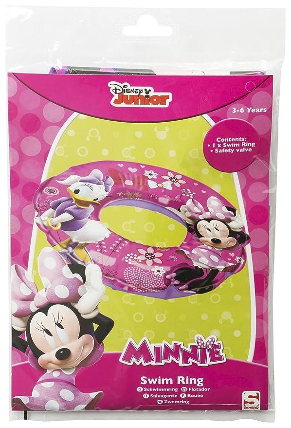 Los niños kids 23 cm x 17 cm Disney Junior características Minnie & Daisy hinchable 40 cm flotador: Amazon.es: Deportes y aire libre