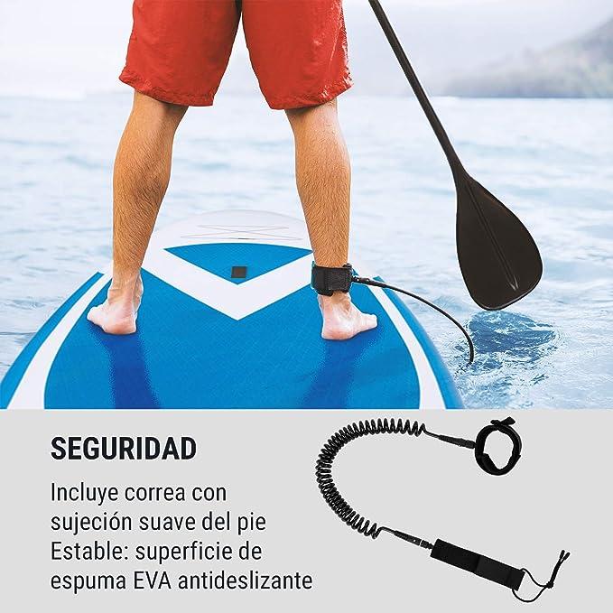KLAR FIT Spreestar - Tabla Hinchable de Surf de Remo, Tabla de ...