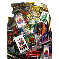 100 Vintage Oddball Non-Sport Trading Cards in Old Sealed Packs - Movie, TV, Comic Cards & More! Perfect for Collectors