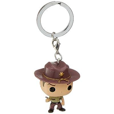 Funko POP Keychain: WD - Rick Grimes: Funko Pocket Pop! Keychain:: Toys & Games
