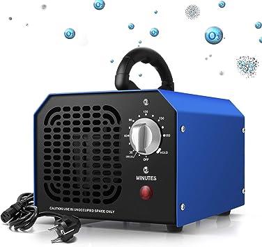 Generador de Ozono 6000 mg/h Purificador Ozono de Aire Profesional ...