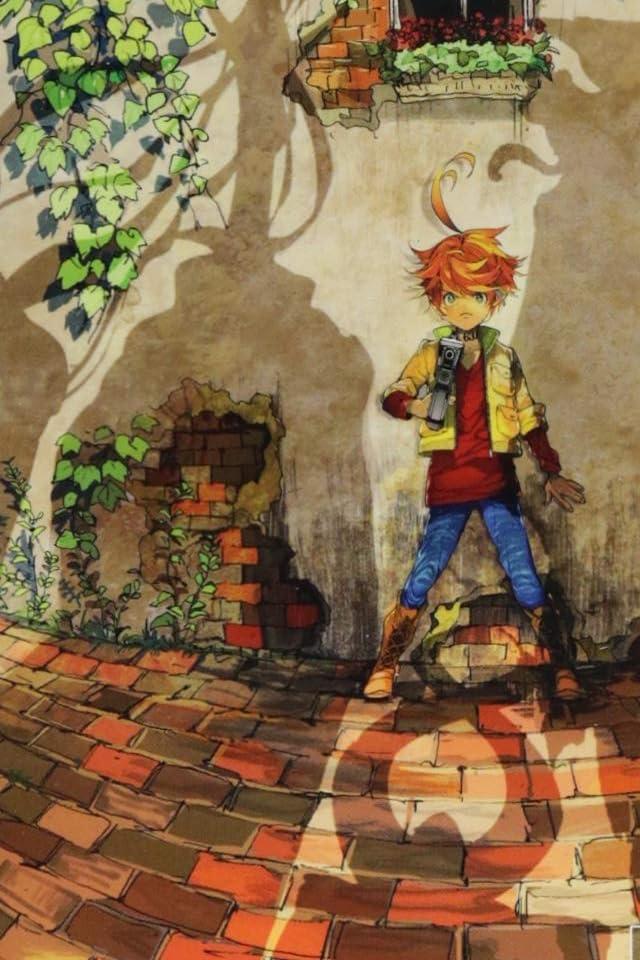 約束のネバーランド エマ iPhone(640×960)壁紙画像