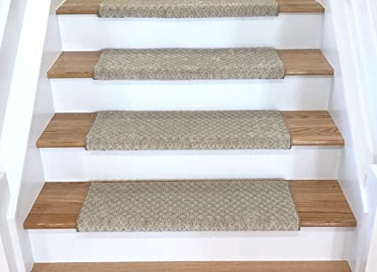 Amazon Com Tread Comfort Padded Adhesive Bullnose Stair Treads