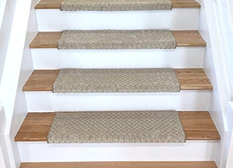Tread Comfort Padded Adhesive Bullnose Stair Treads, Runners U0026 Rugs  Collection (Single 27u0026quot;